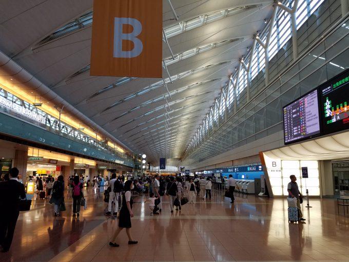 羽田空港 国内線 第2ターミナル