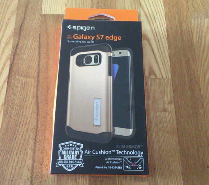 Spigen スリムアーマー Galaxy S7 edge