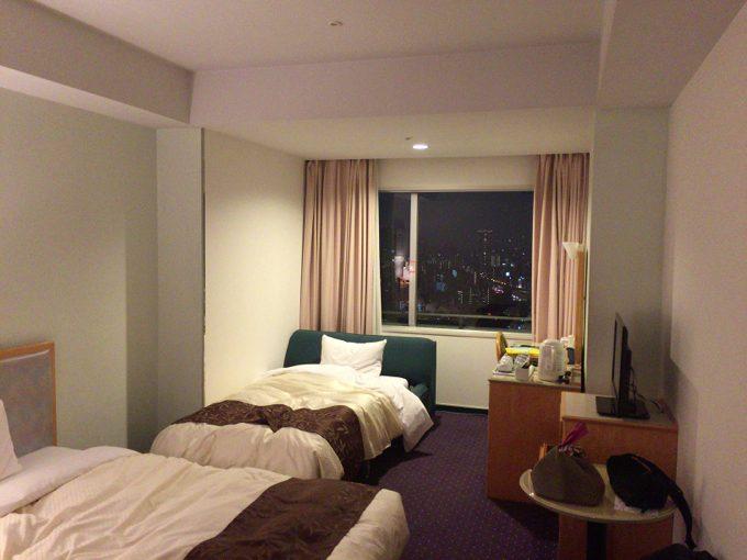 ホテル大阪ベイタワー 部屋